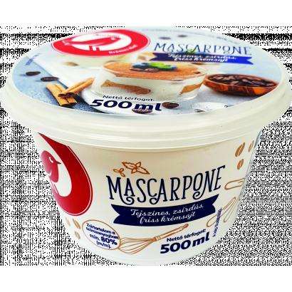 Auchan Nívó Mascarpone sajt 40% zsírtartalommal 500 g