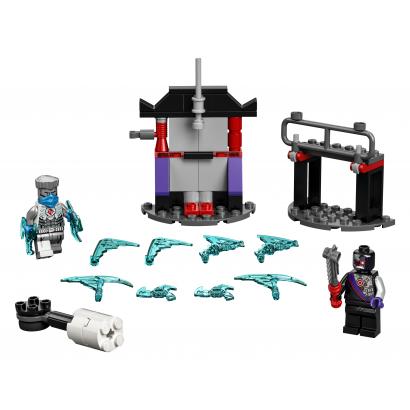LEGO Ninjago Hősi harci készlet - Zane vs Nindroid (71731)