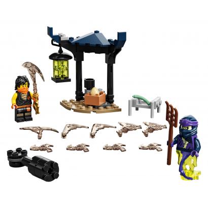 LEGO Ninjago Hősi harci készlet - Cole vs Kísértethar (71733)