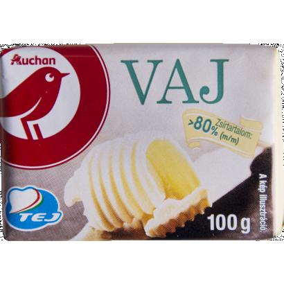 Auchan Nívó Vaj 80% zsírtartalom 100 g