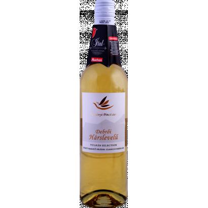 Auchan Nívó Debrői hárslevelű félédes fehérbor 11,5 %,  0,75 l