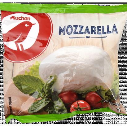 Auchan Nívó Mozzarella zsíros lágy sajt 100 g
