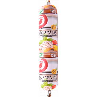 Auchan Nívó Kacsamájas 125 g