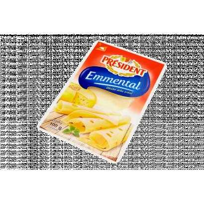 Président Emmental szeletelt sajt 100 g