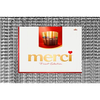 Merci Finest Selection 8 csokoládékülönlegesség 675 g