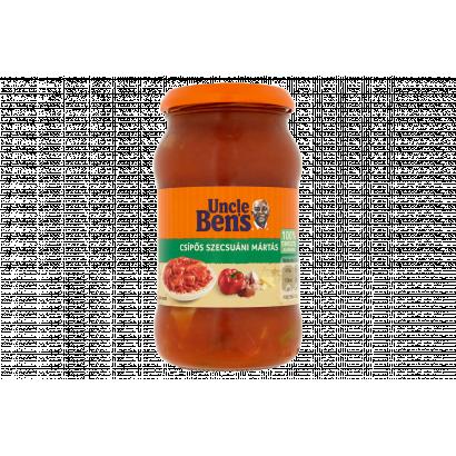 Uncle Ben's csípős szecsuáni mártás 400 g
