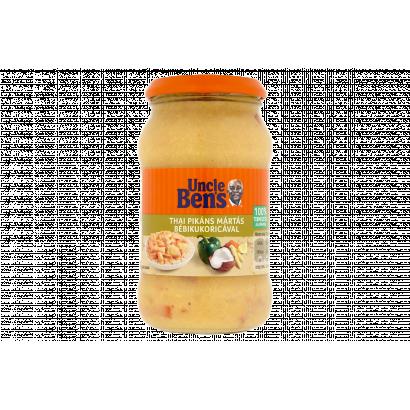 Uncle Ben's thai pikáns mártás bébikukoricával 400 g