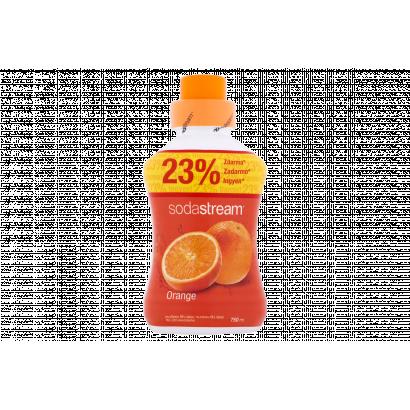 Sodastream narancs szörp cukorral és édesítőszerrel 750 ml