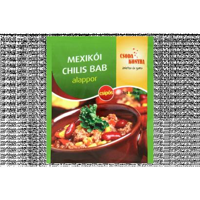 Csoda Konyha mexikói chilis bab alappor 45 g