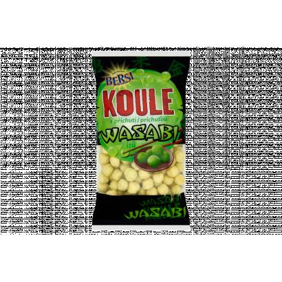 Bersi Snack Koule wasabi ízű extrudált kukoricagolyók 120 g