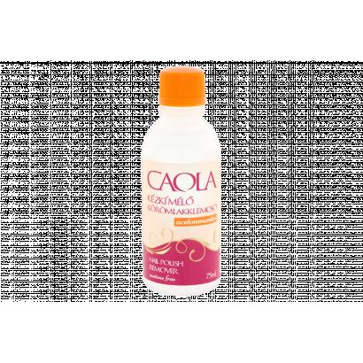 Caola kézkímélő acetonmentes körömlakklemosó 75 ml