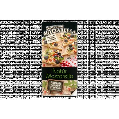 Szarvasi szeletelt natúr pizza mozzarella sajt 100 g