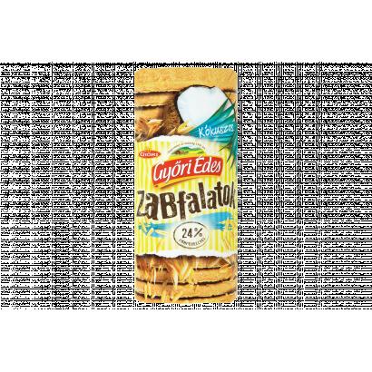 Győri Édes Zabfalatok kókuszos zabpelyhes keksz 215 g