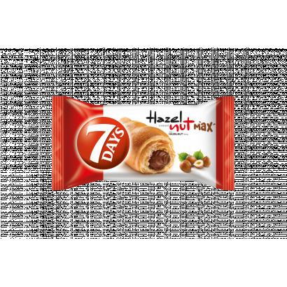7DAYS Hazelnut Max croissant mogyorós töltelékkel 80 g