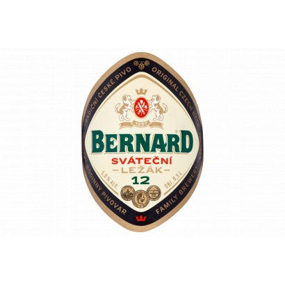 Bernard cseh világos sör 5,0% 0,5 l