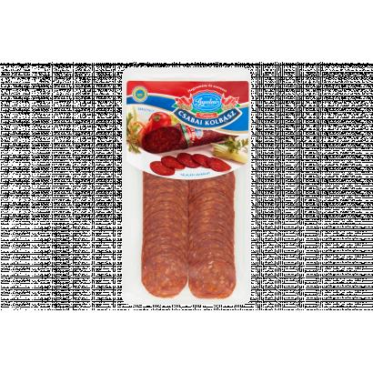 Gyulai szeletelt csípős csabai kolbász 80 g