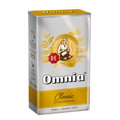 Douwe Egberts Omnia Classic őrölt-pörkölt kávé 500 g