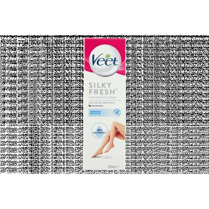 Veet Silky Fresh szőrtelenítő krém érzékeny bőrre 100 ml