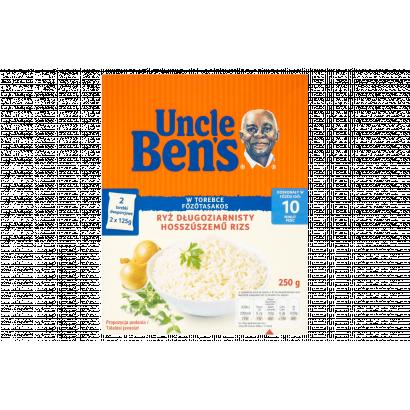 Uncle Ben's főzőtasakos hosszúszemű rizs 250 g