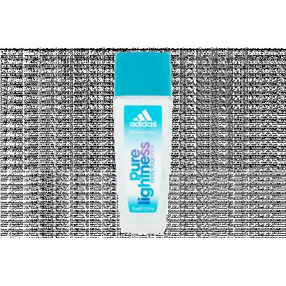 Adidas Pure Lightness női hajtógáz nélküli pumpás parfüm dezodor 75 ml