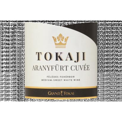 Grand Tokaj Tokaji Aranyfürt Cuvée félédes fehérbor 11% 0,75 l