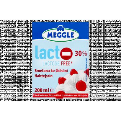 Meggle UHT laktózmentes habtejszín 30% 200 ml