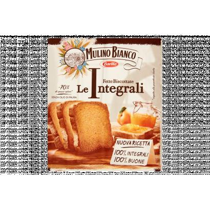 Barilla Mulino Bianco Fette Biscottate Integrali teljes kiőrlésű kétszersült 315 g