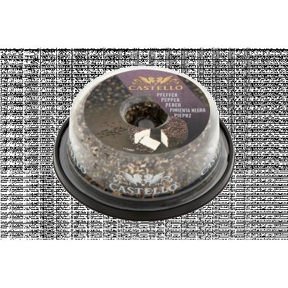 Castello zsíros krémsajt gyűrű borssal 125 g