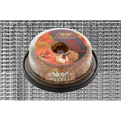 Castello paradicsommal és bazsalikommal ízesített zsíros krémsajt gyűrű 125 g