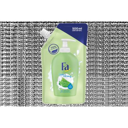 Fa Soft & Caring Aloe Vera folyékony krémszappan utántöltő 500 ml