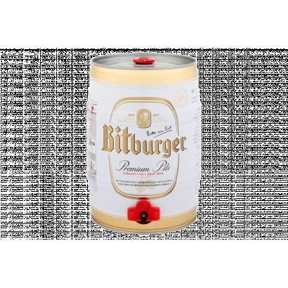 Bitburger Premium Pils import német világos sör 4,8% 5 l