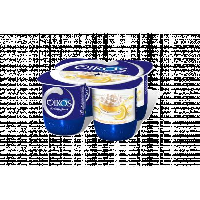Danone Oikos Görög citromos túrótortaízű élőflórás krémjoghurt 4 x 125 g