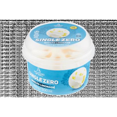 Gelatiamo Single Zero laktózmentes bodzás limonádé jégkrém édesítőszerekkel 500 g