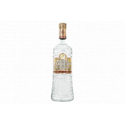 Russian Standard Gold orosz vodka 40% 0,7 l