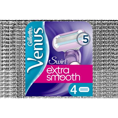 Venus Extra Smooth Swirl Pótfej, 4 db