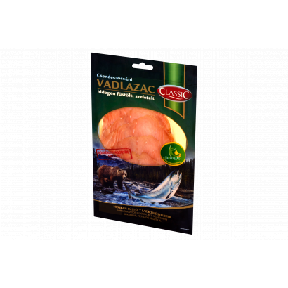 Classic Csendes-óceáni hidegen füstölt szeletelt vadlazac 100 g