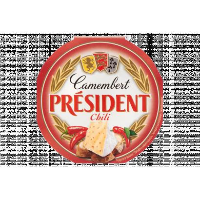 Président Camembert chilis zsírdús lágy sajt 120 g