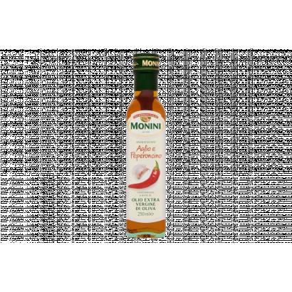 Monini fokhagyma és chili ízesítésű extra szűz olívaolaj 250 ml