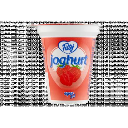 Fittej zsírszegény, eper ízű élőflórás joghurt 125 g