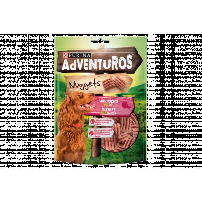 Purina AdVENTuROS Nuggets vaddisznó, vad ízű jutalomfalat kutyáknak 90 g