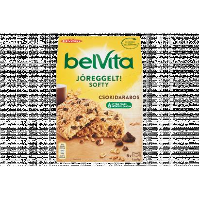Belvita JóReggelt! Softy gabonás keksz csokoládédarabokkal 5 db 250 g
