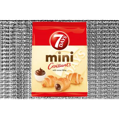 7DAYS mini croissant kakaós töltelékkel 60 g