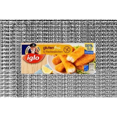 Iglo gyorsfagyasztott gluténmentes halrudacska 12 x 30 g (360 g)