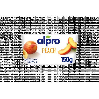ALPRO őszibarackos szójagurt joghurt kultúrával 150 g