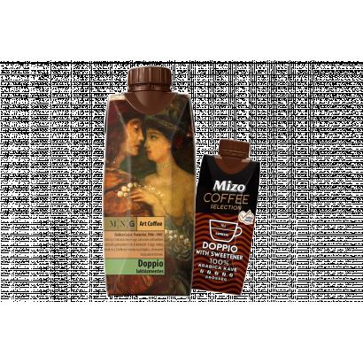 Mizo Coffee Selection Doppio UHT laktózmentes, félzsíros kávés tej édesítőszerekkel 330 ml