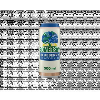 Somersby cider almalé alapú szénsavas, alkoholos ital kékáfonya ízesítéssel 4,5% 0,5 l