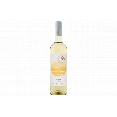 BB Napos Oldal Dunántúli Tramini édes fehérbor 0,75 l