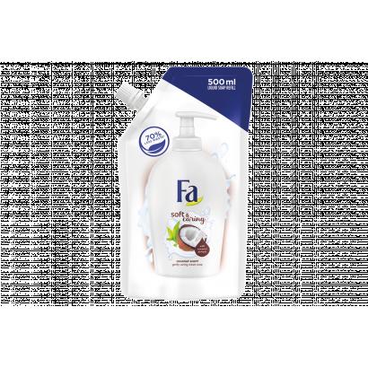 Fa Soft & Caring Coconut folyékony krémszappan utántöltő 500 ml