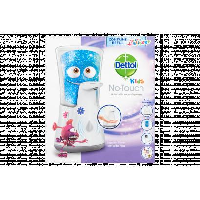 Dettol Kids Kalandor érintés nélküli kézmosó készülék és utántöltő 250 ml