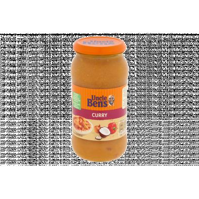 Uncle Ben's curry-szósz borssal és kókusszal 440 g